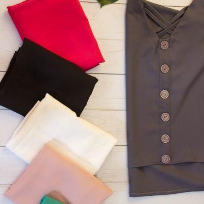 شومیز بهاره اسپرت- شومیز اسپرت- لباس زنانه- قیمت شومیز - پخش عمده شومیز - لباس بهاره - پوشاک لقمان - پوشاک زنانه - دخترانه - فروش تکی