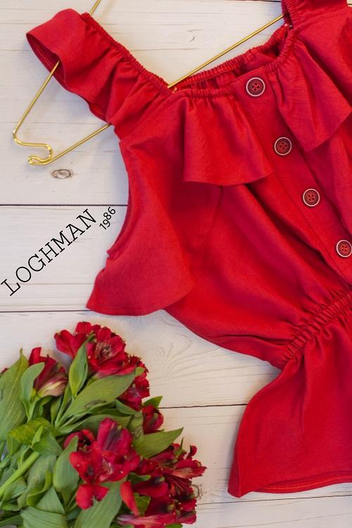 تاپ شومیز-تاپ-شومیز بهاره - تولید و پخش عمده انواع لباس های زنانه- تولید و پخش پوشاک زنانه لقمان- لباس بهاره -لباس تابستانه-انواع تاپ