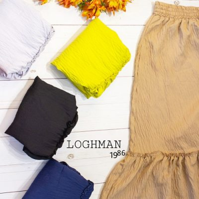 دامن قد بلند بهاره کد 640- تولید و پخش انواع پوشاک زنانه لقمان - پخش عمده انواع لباس زنانه - قیمت دامنه زنانه - فروش عمده پوشاک زنانه