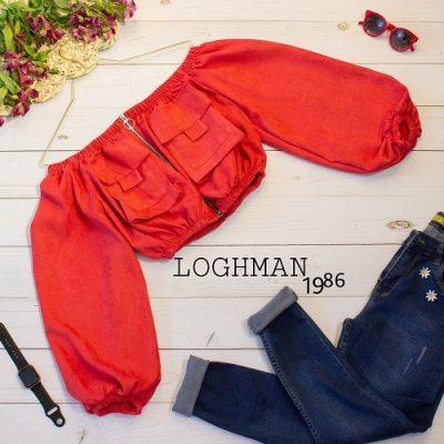 شومیز دکلته پاییزه - شومیز دکلته زنانه - فروش عمده شومیز دکلته - شومیز زنانه - تولید و پخش انواع پوشاک زنانه لقمان - لباس های زنانه