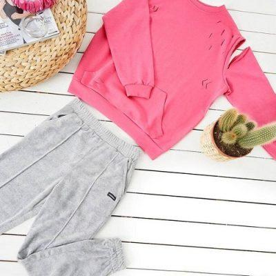 هودی پاییزه - هودی زنانه - لباس زنانه پاییزه - فروش عمده هودی - تولیدی و پخش پوشاک زنانه لقمان - هودی - فروش عمده لباس زنانه