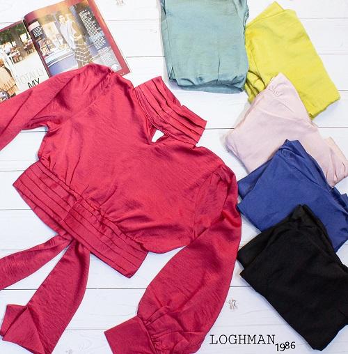 شومیز مجلسی استایل آزاد - فروش عمده به صورت جین و نیم جین و تکی انواع شومیزهای مجلسی پاییزه زنانه و دخترانه در طرح ها و رنگ های متنوع - رنگ بندی